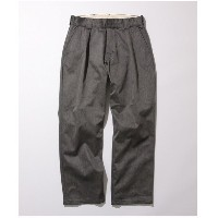 ADAM ET ROPE' 【COWDEN】1TUCK TROUSERS(グレー(07))