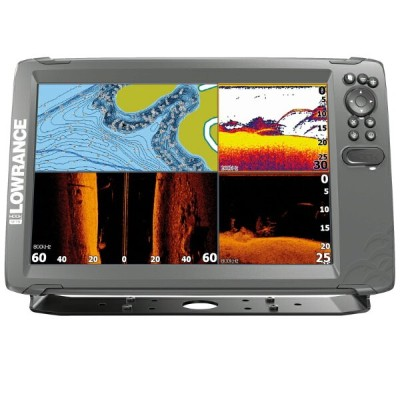 LOWRANCE ローランス HDS Carbon 16 CHIRP  TotalScan振動子付 送料無料 メーカー取り寄せ 納期約1か月前後