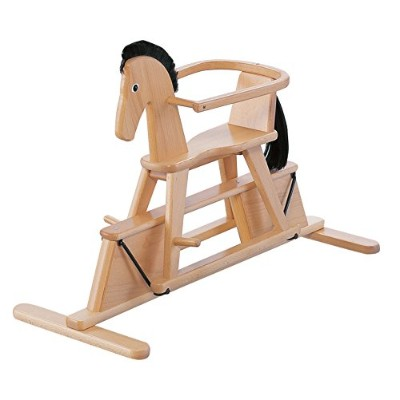 (natural) - Geuther Stern Swinging Horse (Natural)