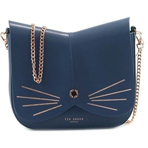 【SALE 20%OFF】テッドベーカー TED BAKER CAT ANIMAL CROSS BODY BAG (MID BLUE) レディース