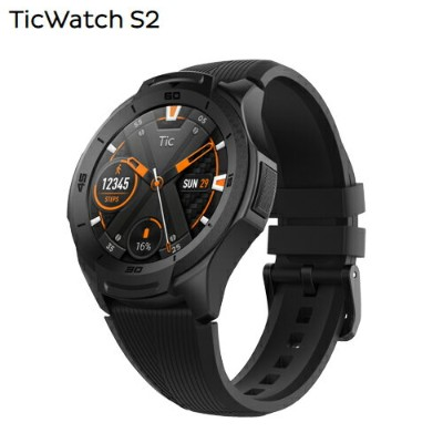 Ticwatch S2 smartwatch「Black」【国内正規品・1年保証】