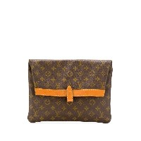 Louis Vuitton Pre-Owned モノグラム クラッチバッグ - ブラウン