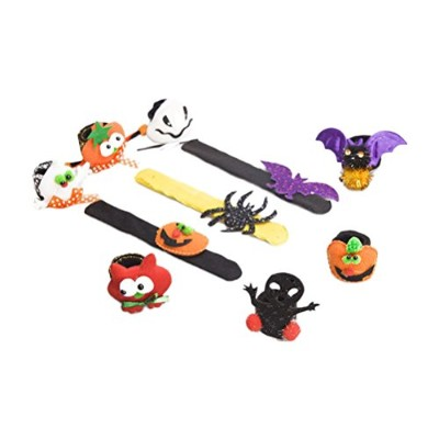 Zhhlaixing 高品質 Multicolor Multi-pack Halloween Christmas Wristbands Bracelet Gifts Party Supplies
