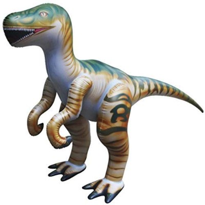 Jet Creations DI-RAPTOR 51in.L x 30in.H Inflatable Velociraptor