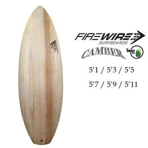 FIREWIRE SURFBOARDS ファイヤーワイヤー サーフボード Camber Timber キャンバー TimberTech ティンバーテック ショートボード [条件付き送料無料]