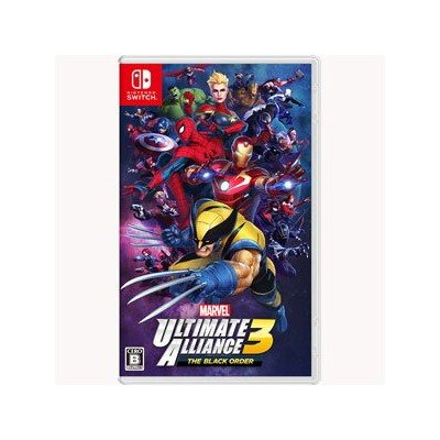 【Nintendo Switch】MARVEL ULTIMATE ALLIANCE 3: The Black Order 任天堂 [HAC-P-APY2A NSW マーベル アルティメット...