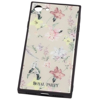 ROYALPARTY/AND THE FLOWER BEIGE iphone7/8 ギズモビーズ  ファッショングッズ