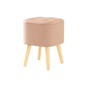 CHIC FURNITURE 収納スツール○ST3262NAPI ピンク チェア・ベンチ・スツール