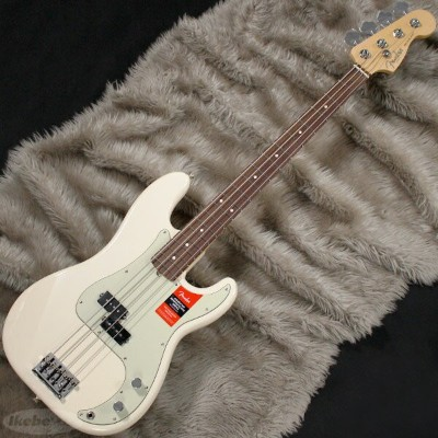 Fender USA American Professional Precision Bass (Olympic White/Rosewood) [Made In USA] 【お取り寄せ品】...