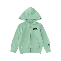 IN THE HOUSE  パーカー HOUSE PASTEL ZIP-UP HOODIE(KID'S) グリーン 【三越・伊勢丹/公式】 キッズファッション~~その他