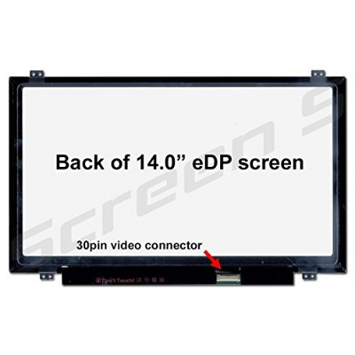 BOE HB140WX1-301 Replacement Screen for Laptop LED HD Glossy by BOE