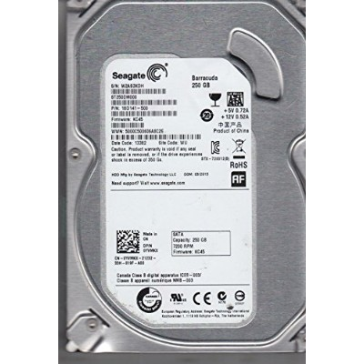 【並行輸入品】Seagate Barracuda 250 GB HDD SATA 6 Gb/s NCQ 16MB 3.5 ST250DM000