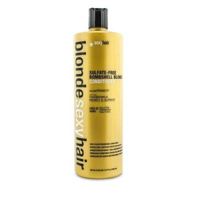 Sexy Hair Concepts Blonde Sexy Hair Sulfate-Free Bombshell Blonde Conditioner (Daily Color...