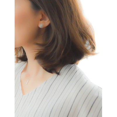 naotjewelry naotjewelry/Silver925 Bar Necklace ナオットジュエリー アクセサリー ネックレス シルバー【送料無料】