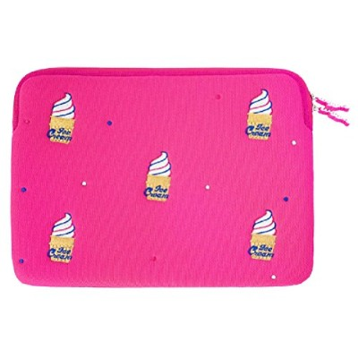 """Wiggle Wiggle Laptop Sleeve – Iceクリーム15 """"ピンク"""