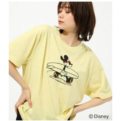 AZUL by moussy SURF MICKEY TEE アズールバイマウジー カットソー