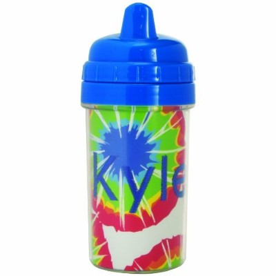 Create Your Own Photo Sippy Cup  幼児用 水筒 300ml ブルー