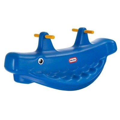 リトルタイクス シーソー Little Tikes Whale Teeter Totter - Blue
