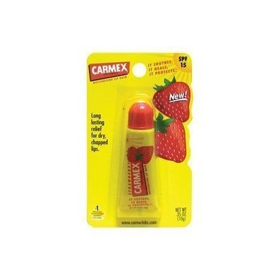 Carmex Lip Balm 10 ml Strawberry Tube (Pack of 12) (並行輸入品)