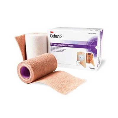 Bandage Compression 3M Coban 2 Layer system - 3M Medical 2094 by 3M