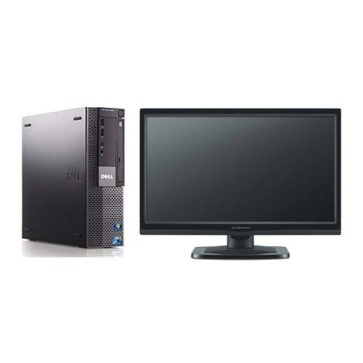 Windows10 32BIT/DELL Optiplex 980 SFF/Core i5 3.20GHz/4GB/1TB/DVD/Office付/新品無線LAN付/20型液晶 中古パソコン...