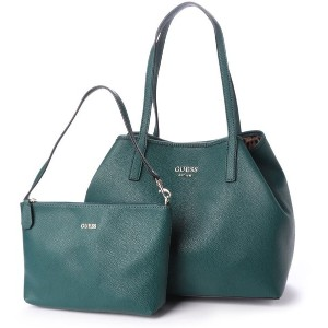 【SALE 50%OFF】ゲス GUESS VIKKY TOTE (FOREST) レディース