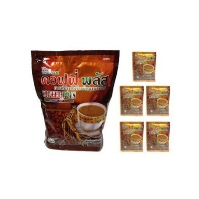 Ginseng Coffee Zhulian Best Instant Coffee Powder (20 G. x 40 Sachets) by Zhulian