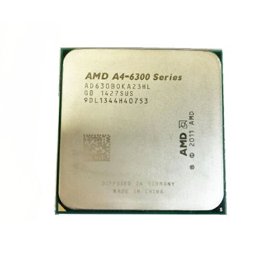 【中古】AMD A4-6300 3.70ghz Socket Fm2 Processor AD630B0KA23HL CPU 送料無料