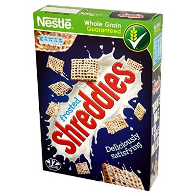 Nestle Frosted Shreddies (500g) ネスレつや消しshreddies ( 500グラム)
