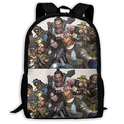b45e210e59a1 リュックサック エーペックスレジェンズ Apex Legends 双肩バッグ バックパック Schoolbag for Mens and Womens  大