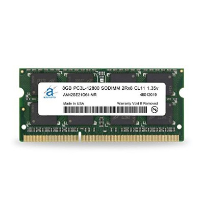 Adamanta 8 GB ( 1 x 8gb )ノートPCメモリアップグレードfor Lenovo g500 ddr3 1600 MHz pc3l - 12800 SODIMM 2rx8 cl11...