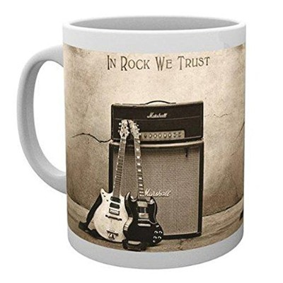 GB eye AC/DC Trust Rock Mug, Various by GB Eye Limited