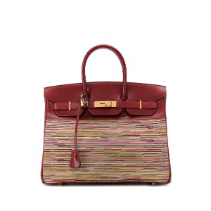 Hermès Pre-Owned バーキン Vibrato Collector 2002 バッグ - レッド