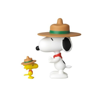UDF PEANUTS シリーズ3 BEAGLE SCOUT SNOOPY & WOODSTOCK