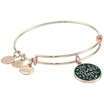 Alex and Ani レディース ハリー・ポッター、Yer a Wizard ハリー・バングル One Size ピンク