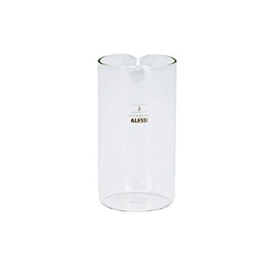 Alessi 35740 Replacement Glass for Coffee Press 11 ounce by Alessi