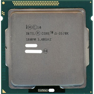 【中古】Core i5 3570K 3.4GHz 6M LGA1155 77W SR0PM