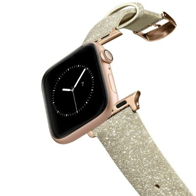 バンド Casetify Glitter Apple Watch Gold ゴールド 38mm/40mm Apple Watch Series4/3/2/1 対応