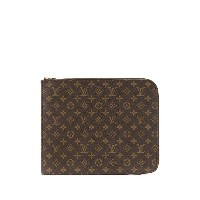 LOUIS VUITTON PRE-OWNED ポッシュ ドキュマン 33 クラッチバッグ - ブラウン