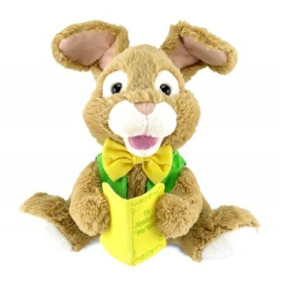 Adorable Animated Talking Storytime Plush Bunny Rabbit, Reads Story of Peter Rabbit, Multicolor,...