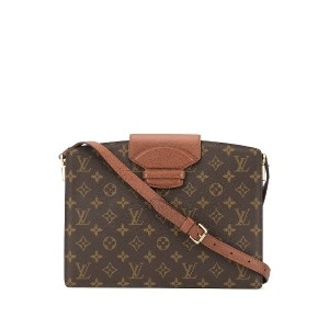 LOUIS VUITTON PRE-OWNED Courcelles ショルダーバッグ - ブラウン