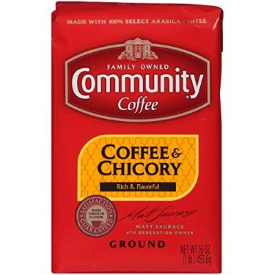 Community Coffee New Orleans Blend (Coffee and Chicory) 1 Pound by Community
