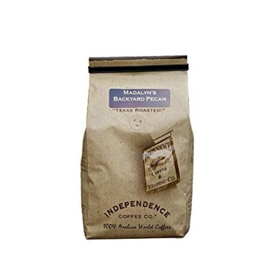 Independence Coffee Co. Madalyn's Backyard Pecan Whole Bean Coffee 24 Oz (Pack of 2)