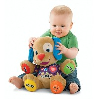 Fisher-Price フィッシャープライス Laugh and Learn ワンちゃんで楽しくお勉強 Love to Play Puppy 知育玩具 おもちゃ ぬいぐるみ プレゼント グッズ...