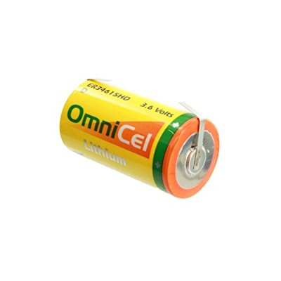 OmniCel er34615hd / T 3.6 V D lithiumthionyl chlorideバッテリーwithタブReplaces Eagle Pitcher pt-2300、Saft...