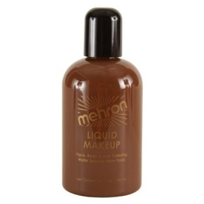 Mehron Liquid Face Paints - Sable Brown 7C (4.5 oz) by Mehron [並行輸入品]