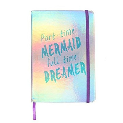 A5 Part Time Mermaid Dreamer Hardback Notebook Gift Book Travel Journal Diary