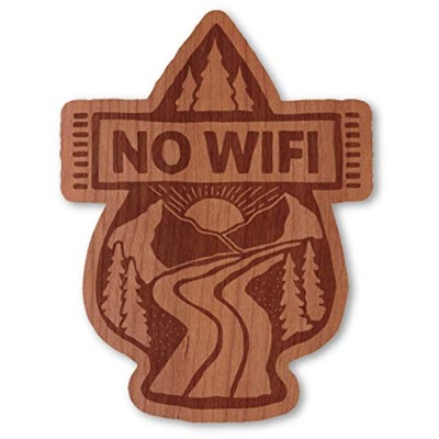 WOODSTICKER ウッドステッカー 水洗い可能 FSC認証 ATOMIC_CHILD 木 ステッカー MADE IN USA (NO WIFI AT-CH23)