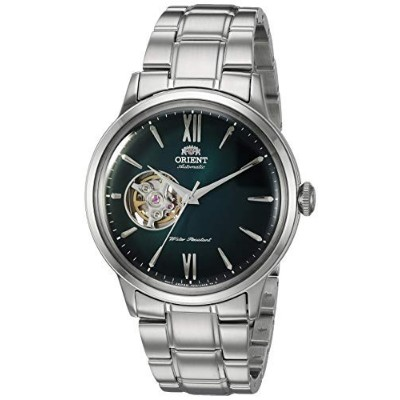 """Orient Men's""""Helios"""" Japanese Automatic/Hand-Winding Stainless Steel Bracelet Dial Color: Green..."""