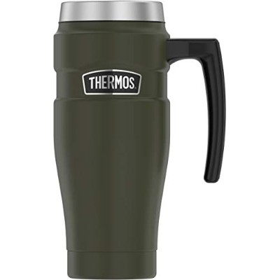 Thermos SK1000AG4 Stainless Steel King Travel Mug, 16 Ounce, Matte Army Green